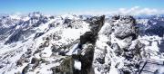 Blick vom Gipfel - Hintere Jamspitze